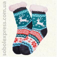 Носки-тапочки детские на силиконовой подошве-06
