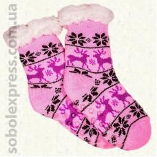 Носки-тапочки детские на силиконовой подошве-08