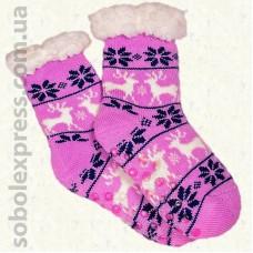 Носки-тапочки детские на силиконовой подошве-11