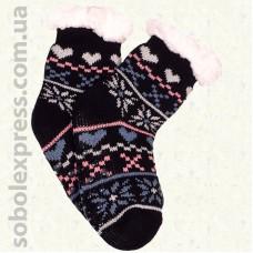 Носки-тапочки детские на силиконовой подошве-12