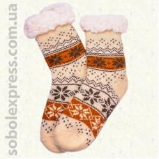 Носки-тапочки детские на силиконовой подошве-10