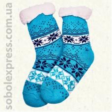 Носки-тапочки детские на силиконовой подошве-09