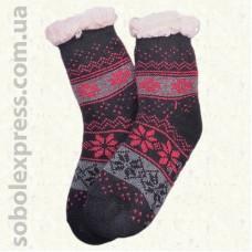 Носки-тапочки детские на силиконовой подошве-01