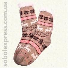 Носки- тапочки женские на силиконовой подошве 08