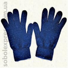 Перчатки шерстяные однотонные