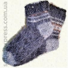 Носки из овечьей шерсти Гуцульские- 03