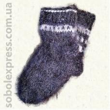Носки из овечьей шерсти Гуцульские- 05