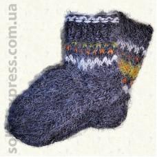 Носки из овечьей шерсти Гуцульские- 07