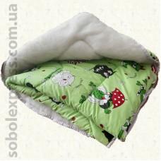 Одеяло шерстяное детское -01