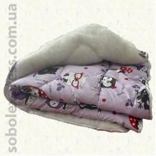 Одеяло шерстяное детское -02