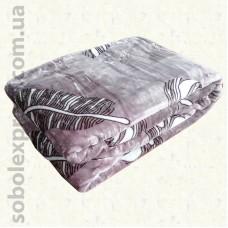 Плед из микрофибры двуспальный 04