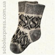 Шкарпетки вовняні без гумки 02