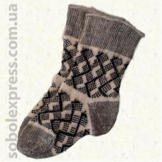 Шкарпетки вовняні без гумки 03