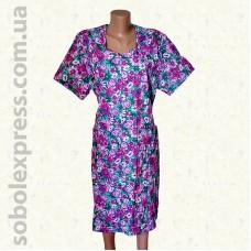 Платье женское летнее ситцевое -08