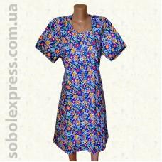 Платье женское летнее ситцевое -11