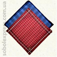 Мужской носовой платок 28х28 см. Комплект 10 штук M -11
