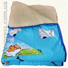 Одеяло шерстяное детское -03