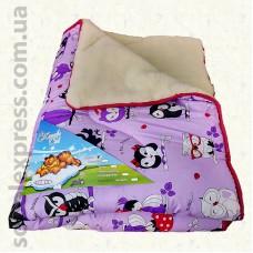 Одеяло шерстяное детское -04