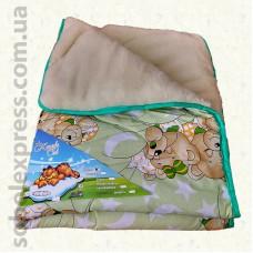Одеяло шерстяное детское -05