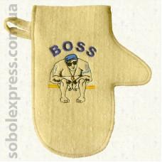 """Рукавица для сауны """"Boss"""""""