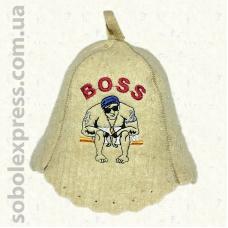 "Шапка для сауны ""Boss"""