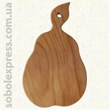 Доска деревянная фигурная Груша 28 см