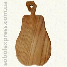 Доска деревянная фигурная Груша 38 см