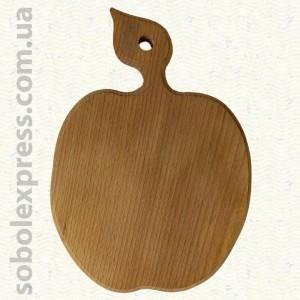 Доска деревянная фигурная Яблоко 30 см