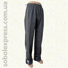 Спортивные мужские штаны трикотажные с лампасами
