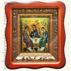 Троица Рублева 9289. 10х12 Багет