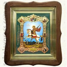 Георгий Победоносец 9269. 15x18