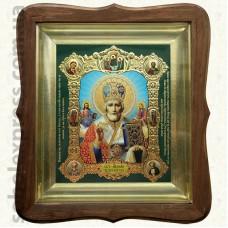 Николай Чудотворец (зимний) 9271. 15x18