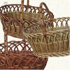 Корзинка плетеная из лозы