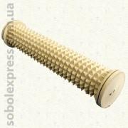 Массажер деревянный роликовый для ног 50-09