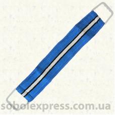 Мочалка «Бапутекс» двусторонняя с пластиковыми ручками 55 см