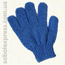 Перчатки синтетические для купания.