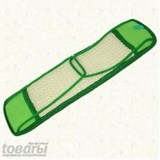 Мочалка антицеллюлитная сизаль мелкий с верёвочными ручками