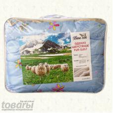Одеяло шерстяное двуспальное  8958