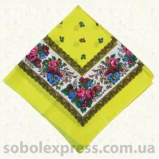 Платок многоцветный с люрексом 005