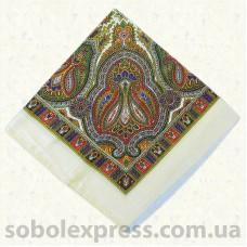 Платок многоцветный с люрексом 006