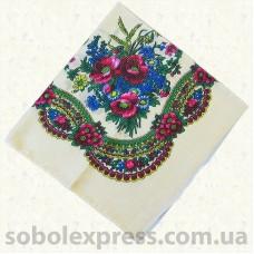 Платок многоцветный с люрексом 008