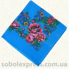 Платок многоцветный с люрексом 009