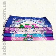 Женский носовой платок 30 х 30 см. Комплект 10 штук