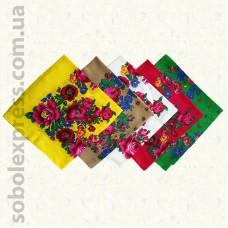 Платок многоцветный с люрексом 001