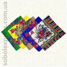 Платок многоцветный с люрексом 002