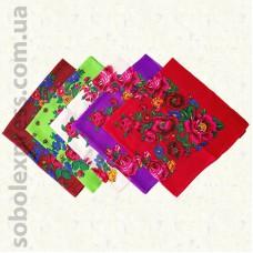 Платок многоцветный с люрексом 003