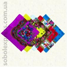 Платок многоцветный 001