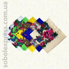 Платок многоцветный 002