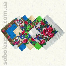 Платок многоцветный 003