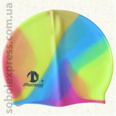 Шапочка для плавания силиконовая -02